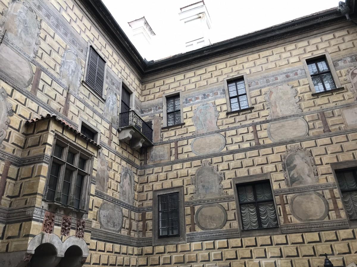 fresco's in Český Krumlov