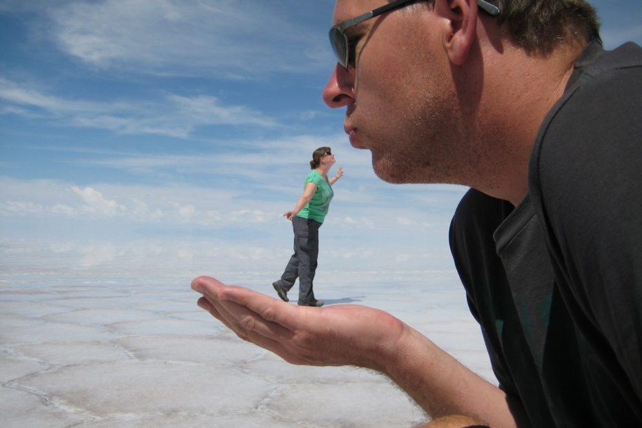 foto loco zoutvlakte bolivia