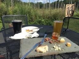 our cheese plate after