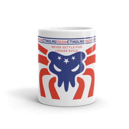 Cthulhu Patriot Mug 11 oz - front view