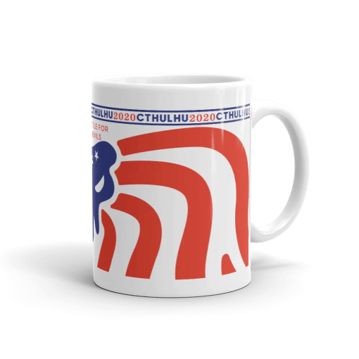 Cthulhu Patriot Mug 11 oz - right view