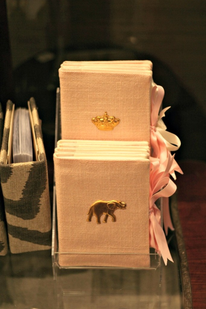 Close up of Photo Albums