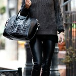 HOW TO ROCK LEATHER PANTS