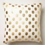 Gold Polka Dots