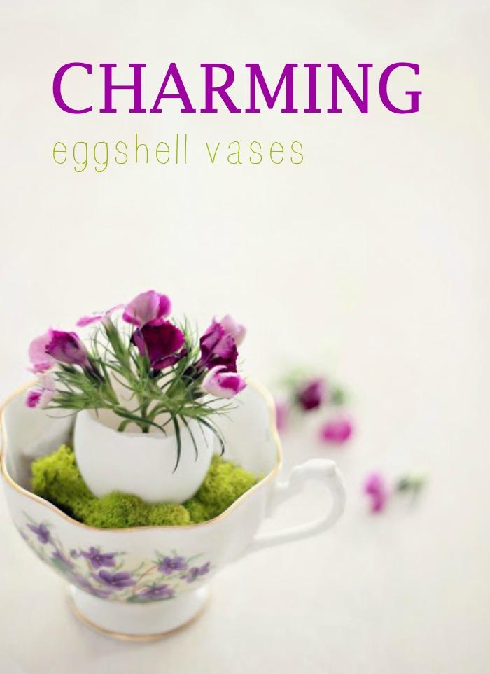 Charming Eggshell Vases