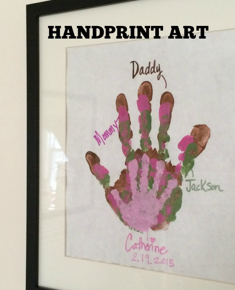 Handprint Art Feature Image