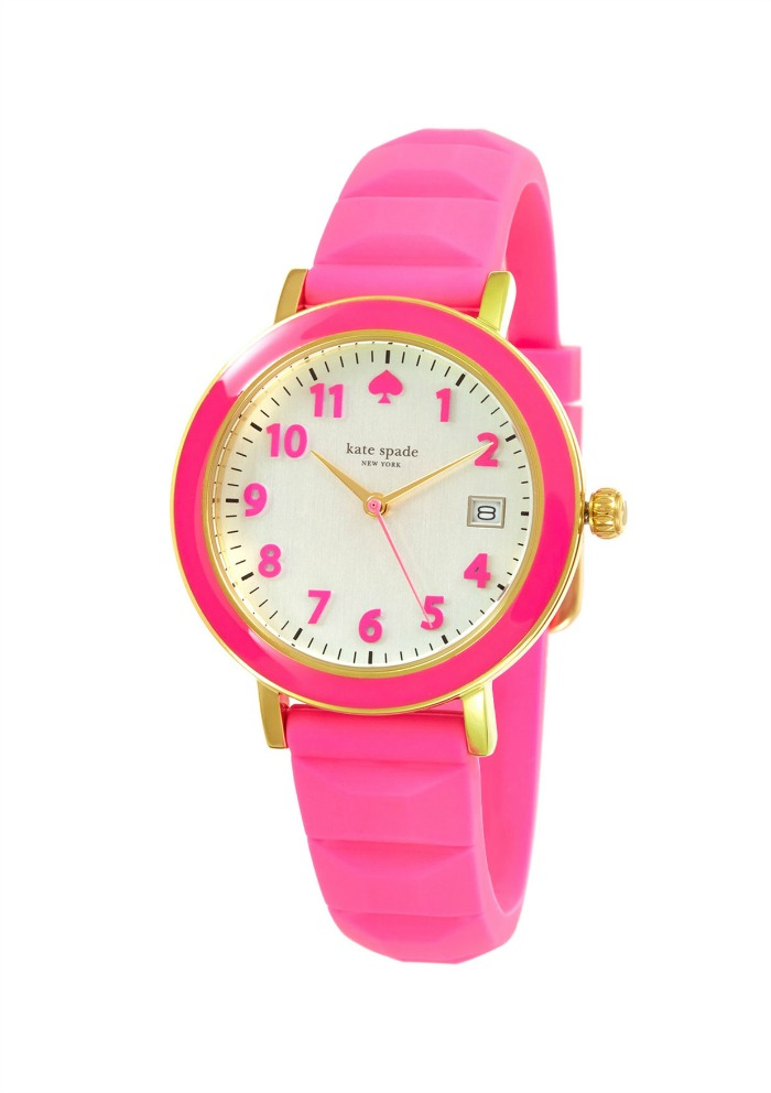 Pink watch