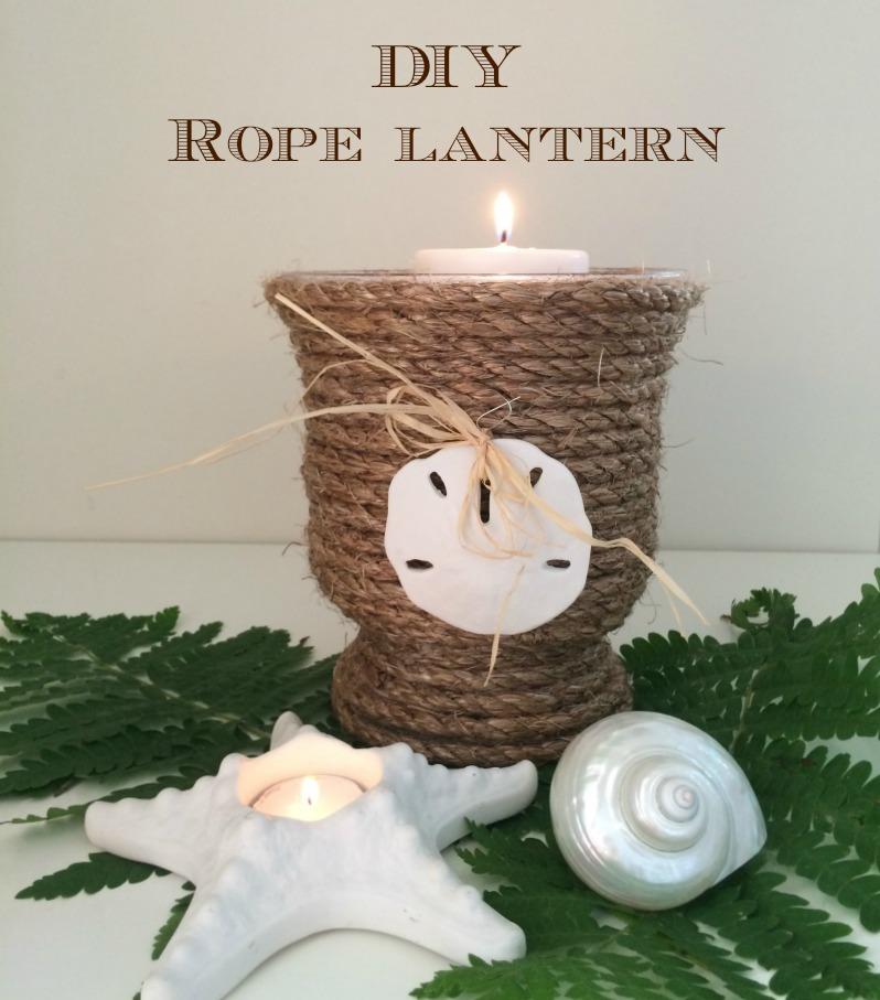 DIY Rope Lantern