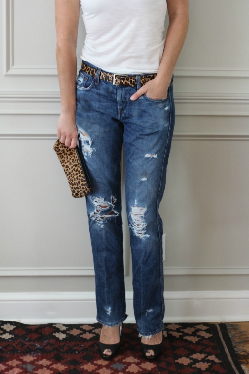 Diy Distressed Jeans Connecticut In Style