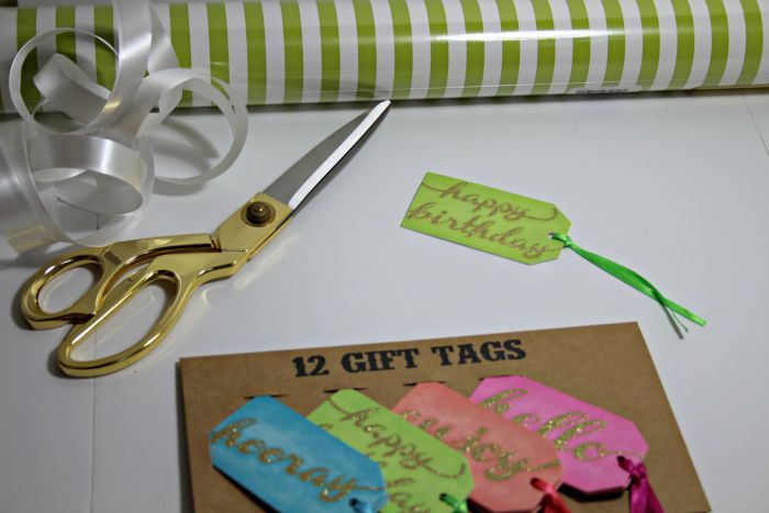 Wrapping supplies