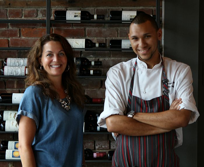 Sarah OBrien and Chef David White