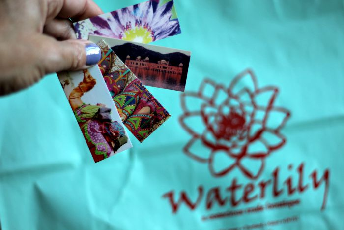 Waterlily business cards