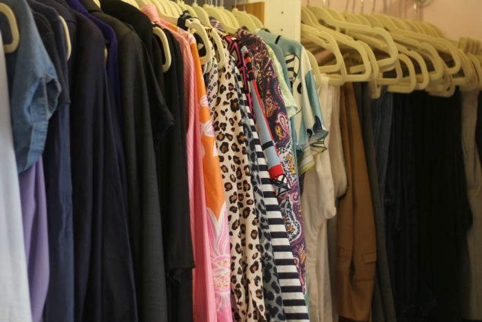 Clothes by color other side