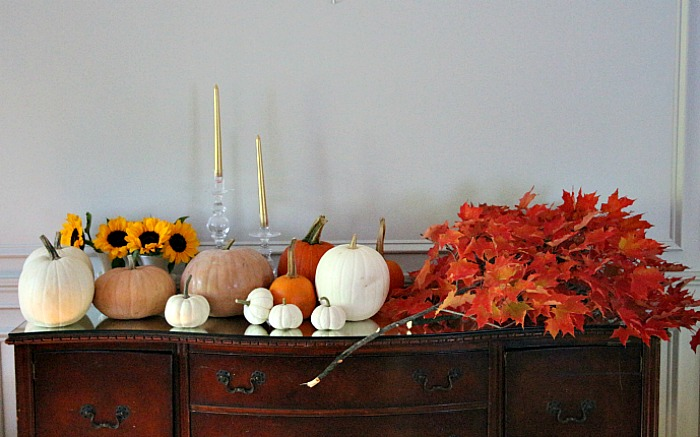 Fall Mantel Supplies