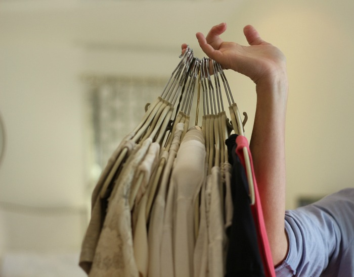 Closet Organizational Tips