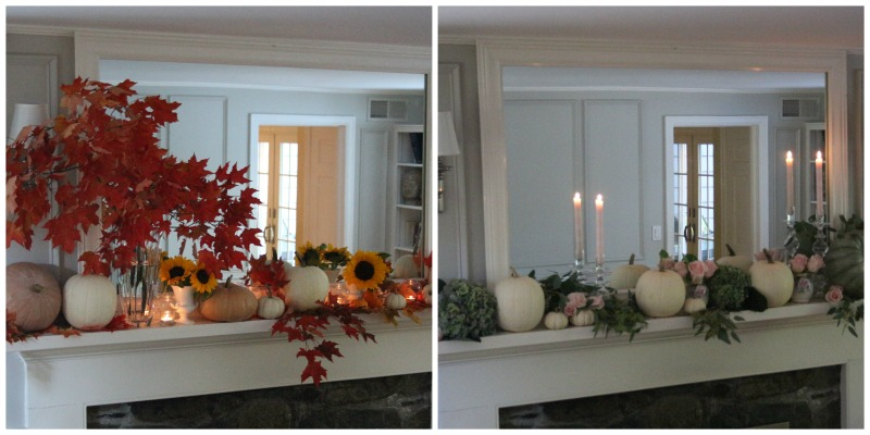 One Mantel Two Ways