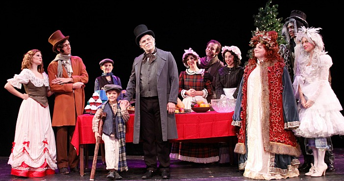 A Christmas Carol at the Downtown Caberet