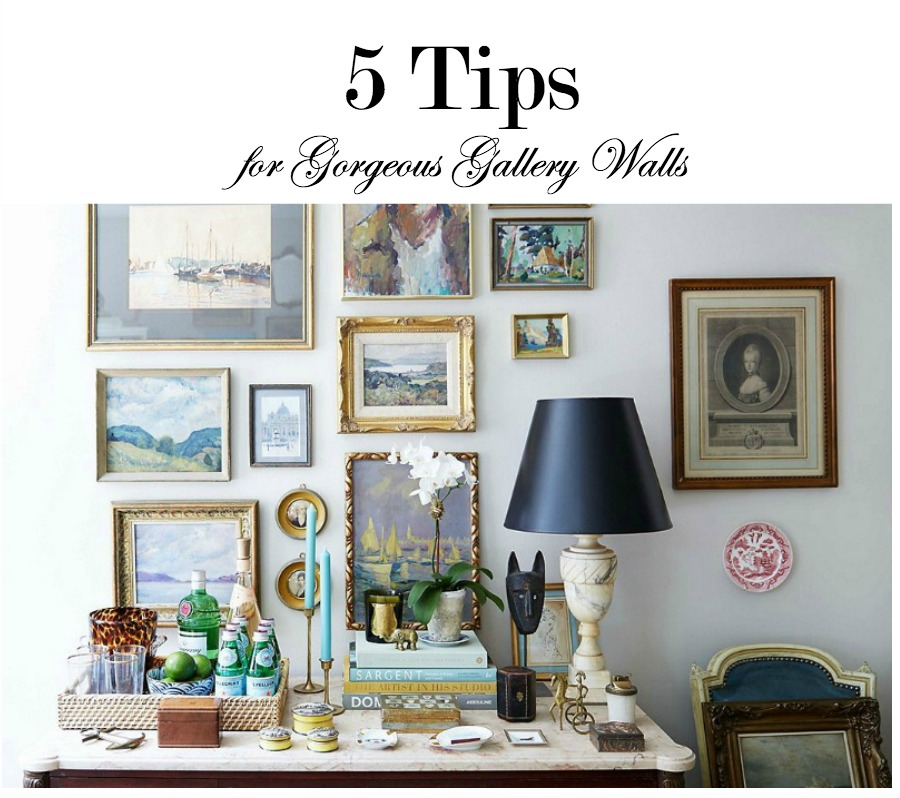Tips for gorgeous gallery walls