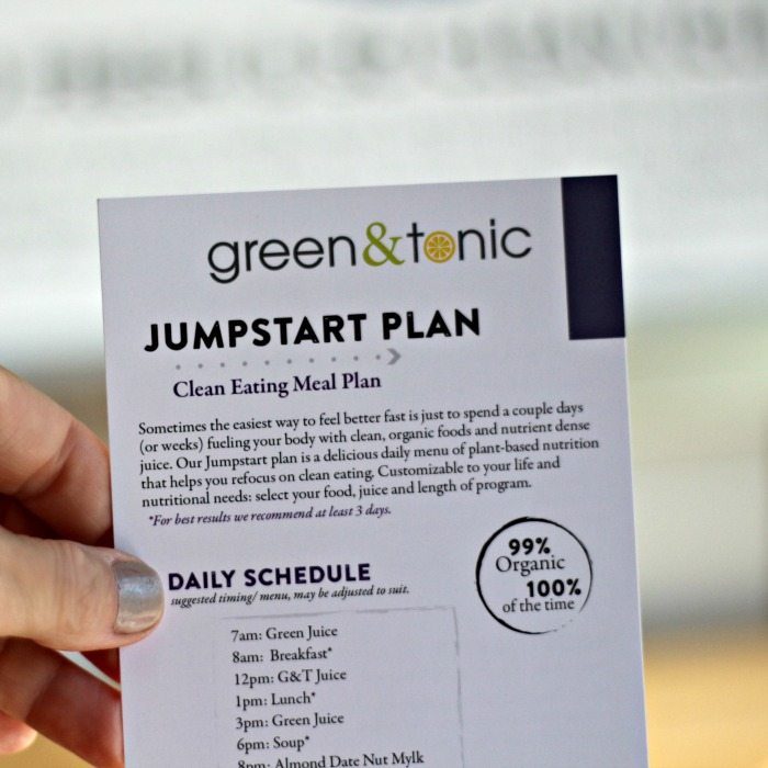 G&T Jumpstart Plan