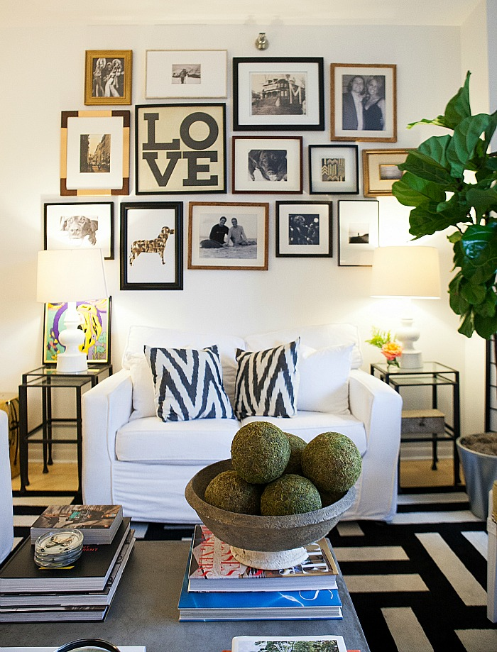 LOVE Gallery Wall
