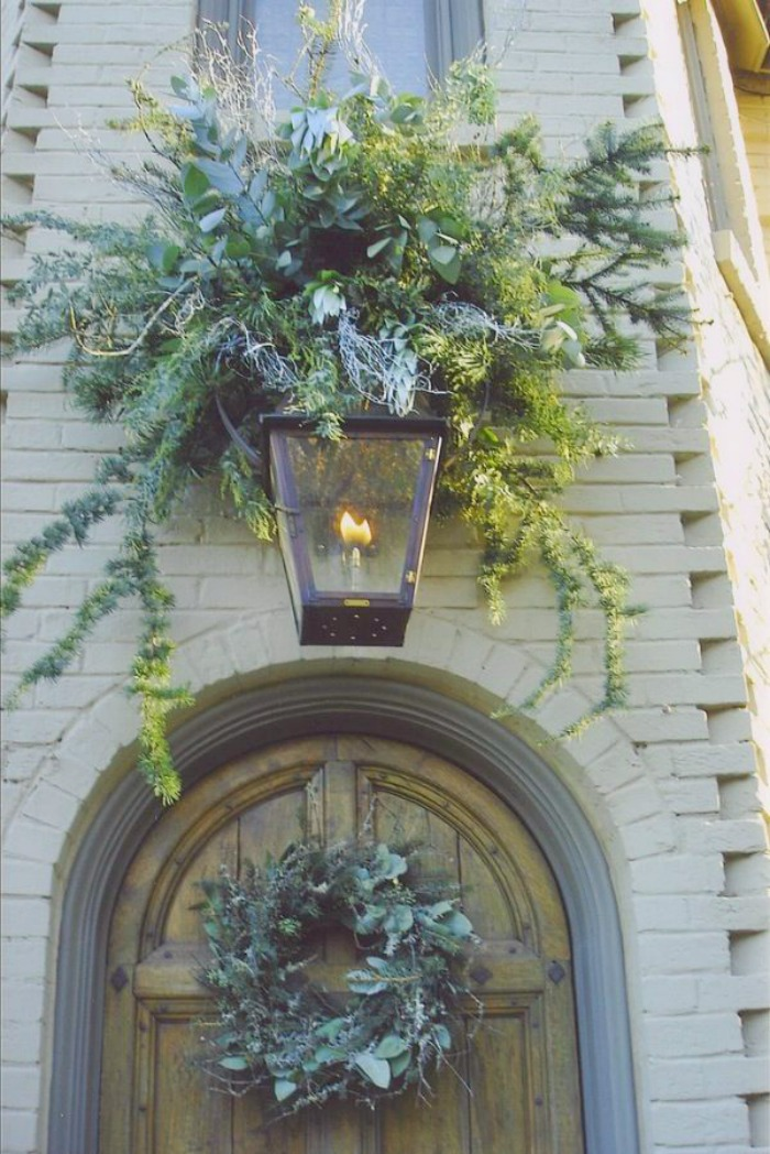 Decorated Exterior Light