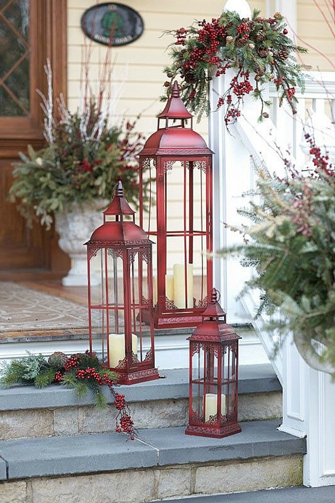 Red Lanterns for the holidays