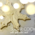 Sugar Cookies With Color Mist