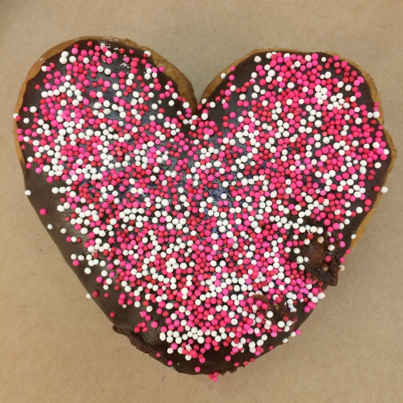 Heart Shaped Donut