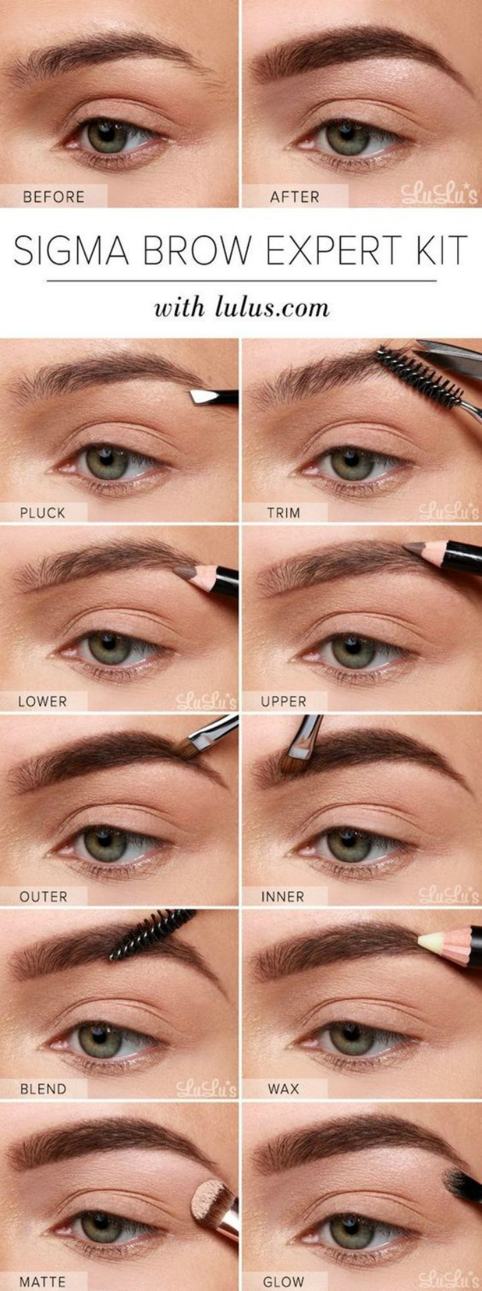 Eyebrow Styles: How To Get The Perfect Eyebrow