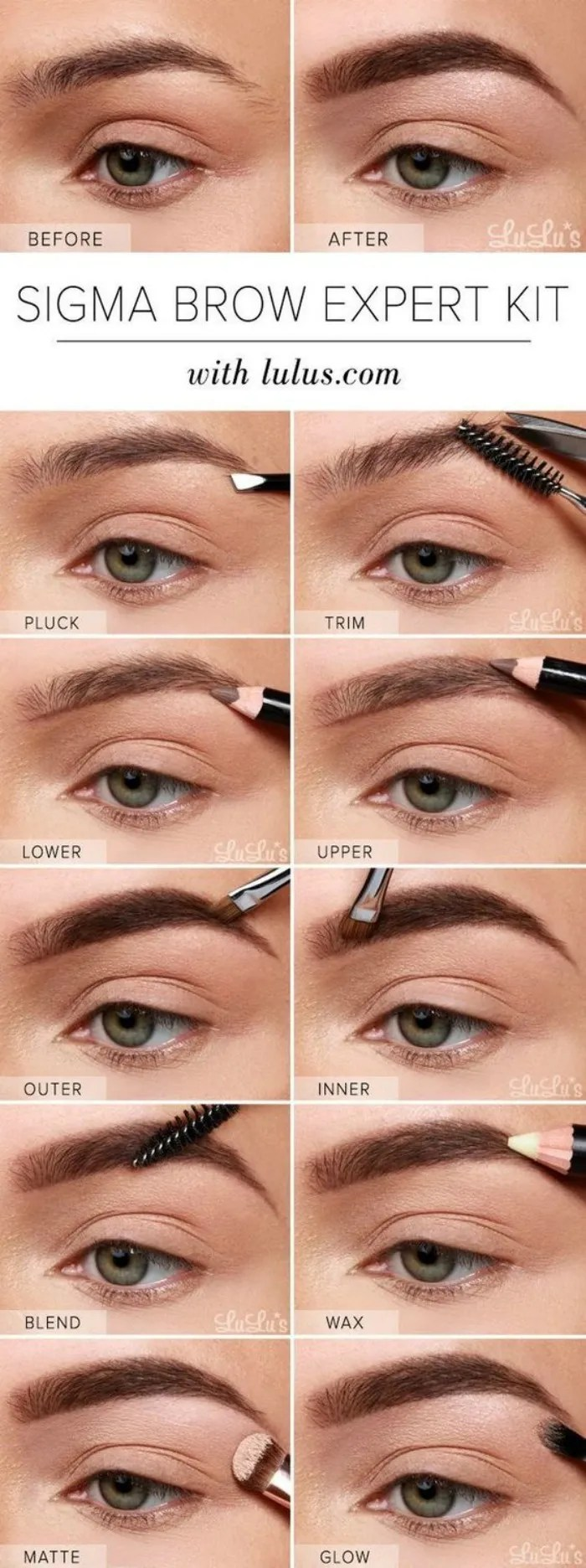 How to get the perfect eyebrow - Connecticut in Style