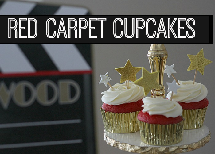 Red Carpet Cupcakes Pinterest