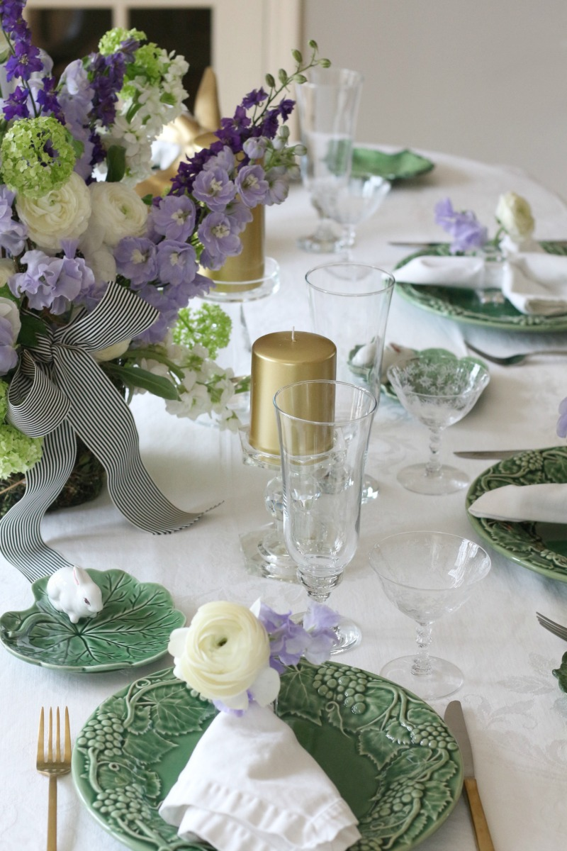 Easter Table Decorating Ideas by Connecticut in Style