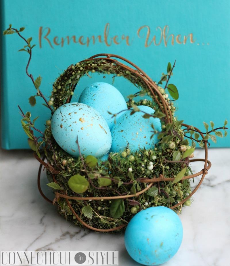 Gold Speckled Easter Eggs