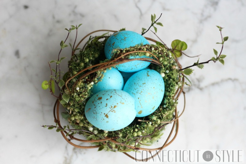 Gold Flecked Easter Eggs photo