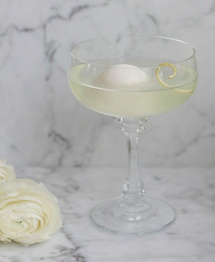 emon Drop Martini with a twist