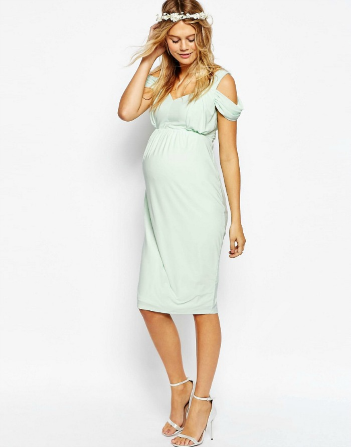 Maternity Dress for a Wedding - Connecticut in Style