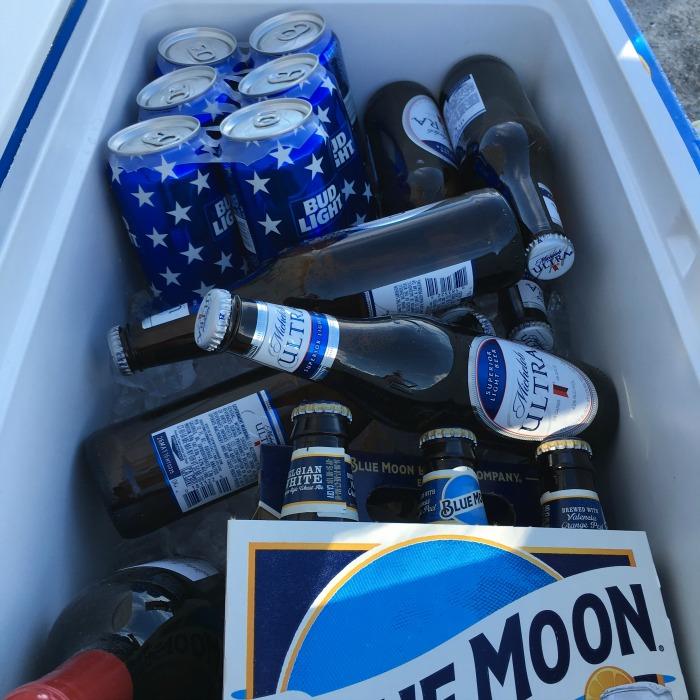 No beer allowed