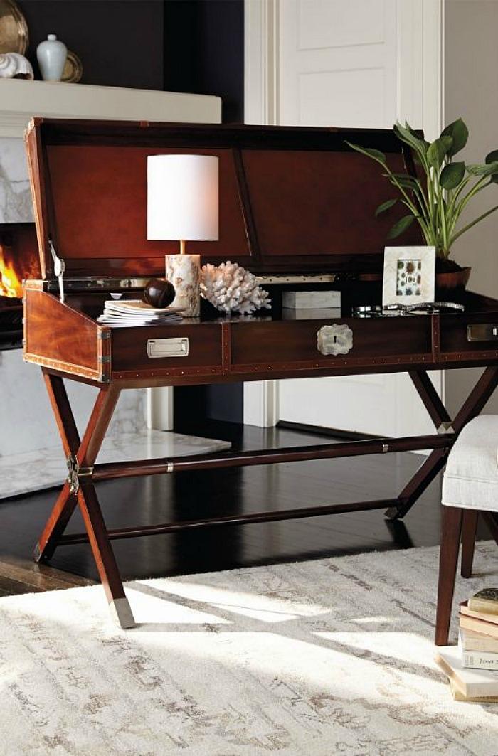 open top desk