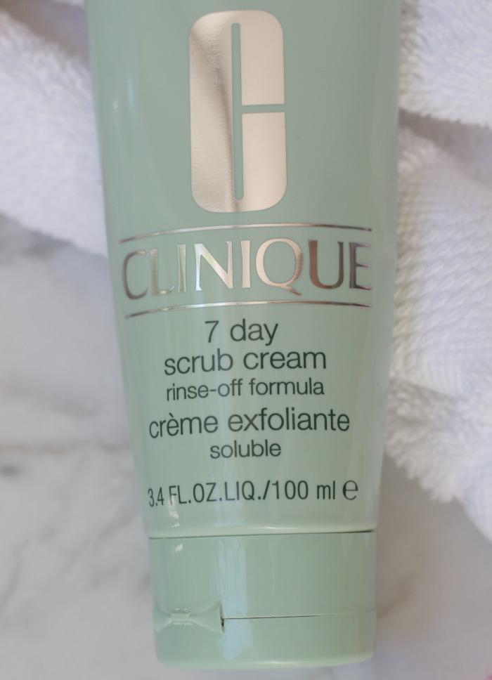 Clinique 7 day scrub cream image