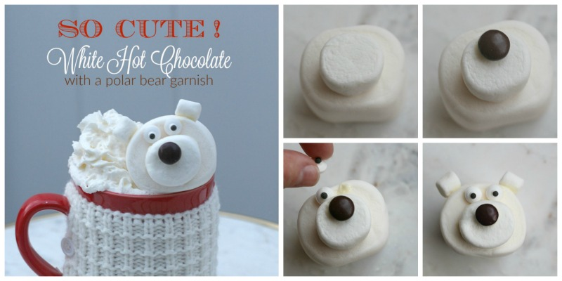 DIY Marshmallow Polar Bear