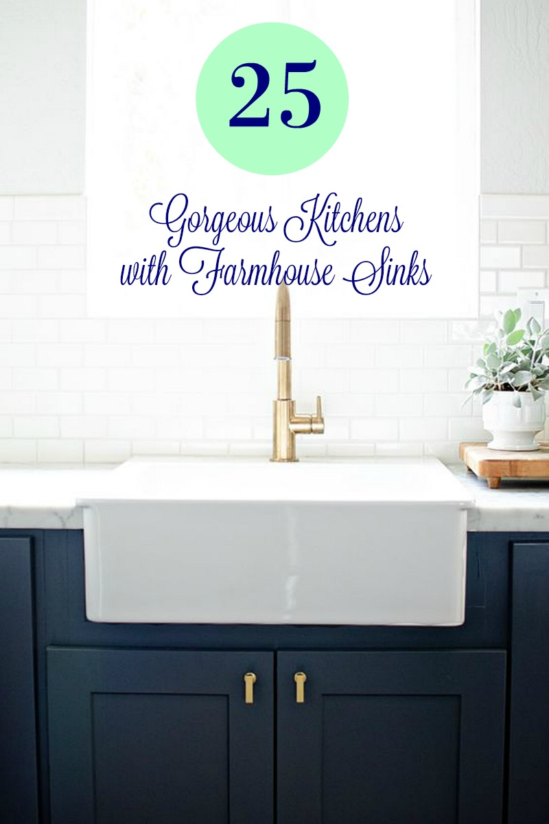 25 Gorgeous Kitchens with Farmhouse Sinks - Connecticut in Style