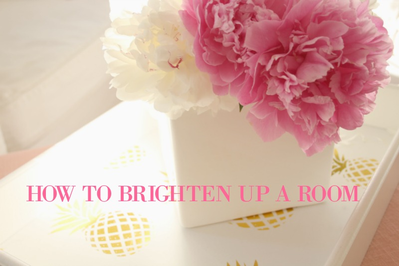 How to brighten up a room