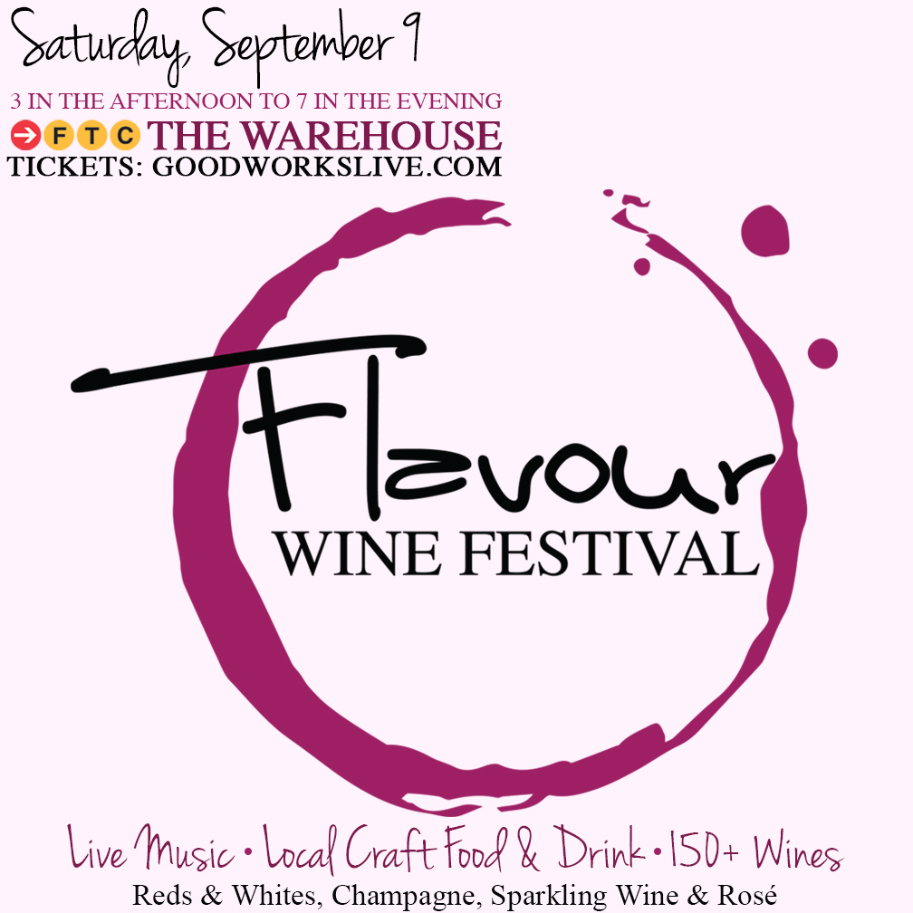 Buy Tickets Here! Flavour Wine Festival