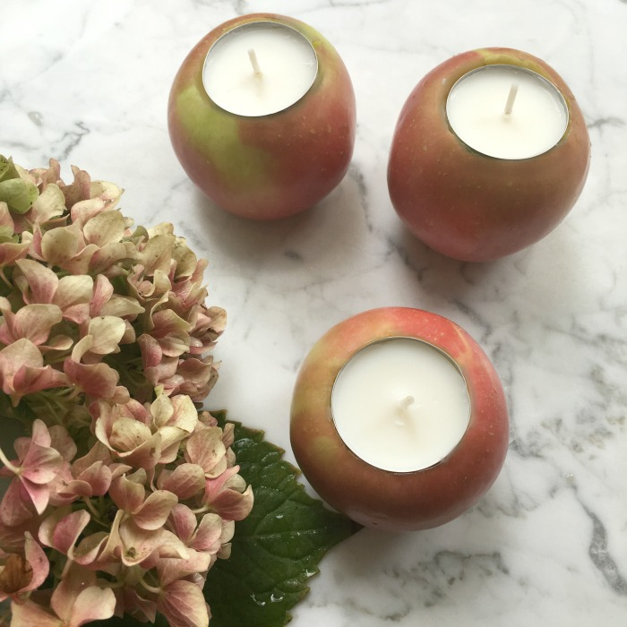 Real Apple Tea Light Votives