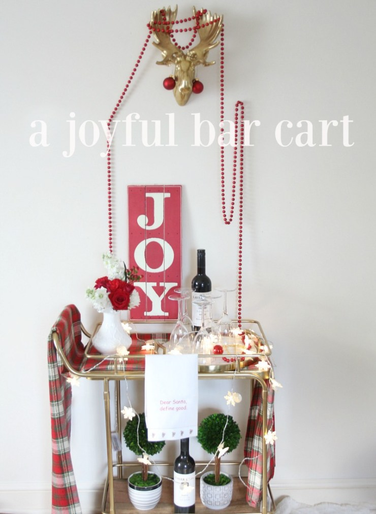 A JOYFUL Bar Cart