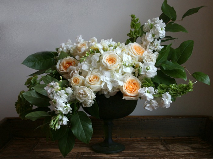 How To Make A Floral Arrangement In A Footed Vase Connecticut In Style