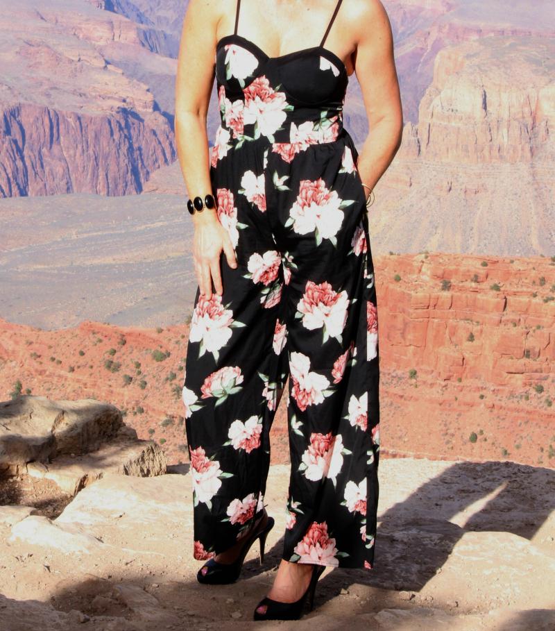 Big Canyon + Big Floral Jumpsuit
