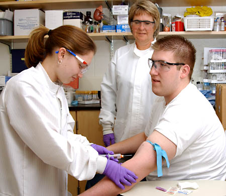 Phlebotomy Technician at CTK healthcare and career institute.