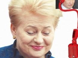 Dalia Grybauskaitė ir Vladimiras Putinas