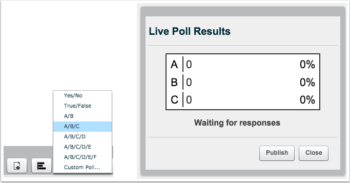 Big Blue Button Polling Feature